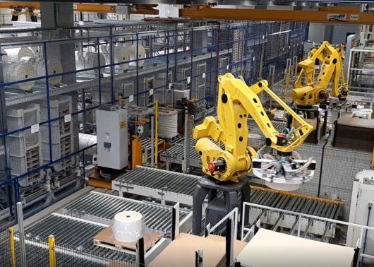 Robot e magazzino